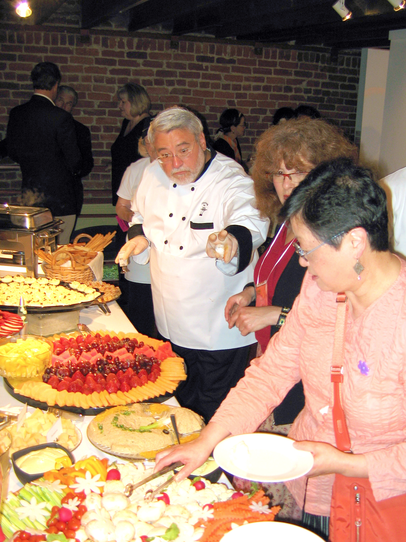 KAC 45th Anniversary party buffet in KAC Gallery